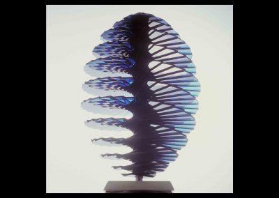 Uovo spirale blu | Blue spiral Egg